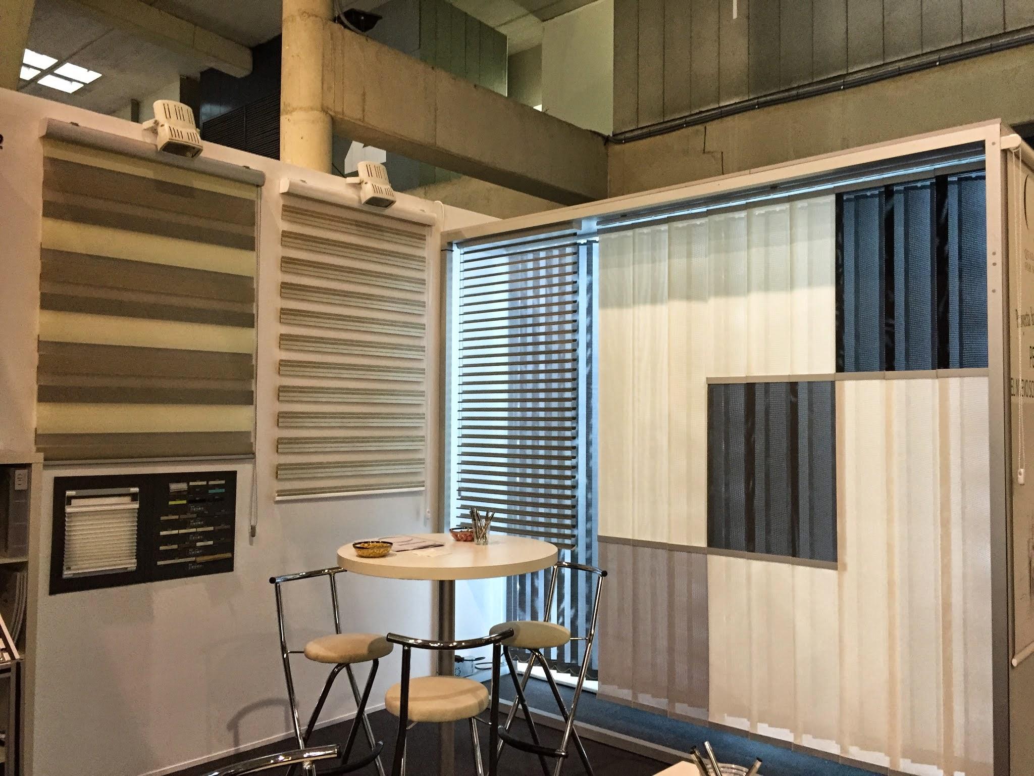 Q + D en Construmat | Imaginamos diseñamos y creamos cortinas